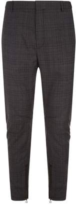 Lanvin Wool Biker Trousers