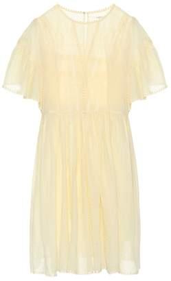 Etoile Isabel Marant Isabel Marant, Étoile Annaelle cotton lace minidress