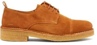 Ami Suede Derby Shoes - Mens - Tan