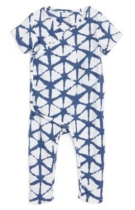 Infant Boy's Aden + Anais Short Sleeve Kimono Footie $25 thestylecure.com