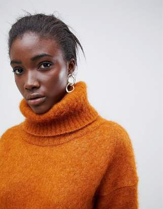 Asos mohair roll neck sweater