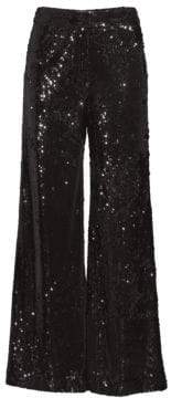 Milly Sia Sequin Trousers