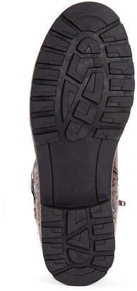 Muk Luks Womens Tisha Dress Boots Block Heel