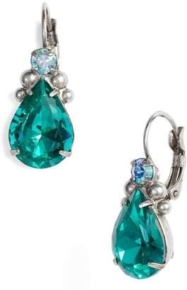 Sorrelli Embellished Pear Crystal Drop Earrings