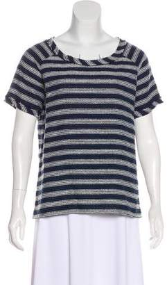 Maison Scotch Short Sleeve Woven Top