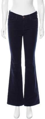 J Brand Wide-Leg Corduroy Pants