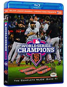 A&E San Francisco Giants 2012 World Series Champions Blu-ray