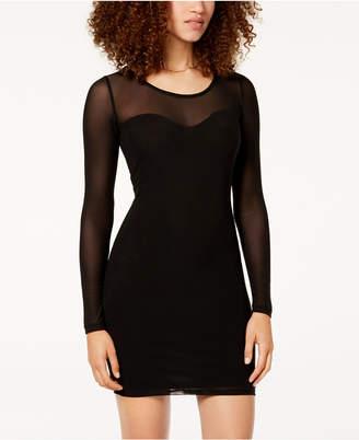 Material Girl Juniors' Mesh Bodycon Dress, Created for Macy's