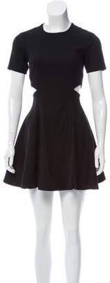 Elizabeth and James Short Sleeve Mini Dress