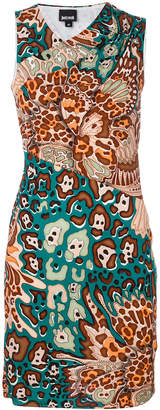 Just Cavalli graphic print mini dress