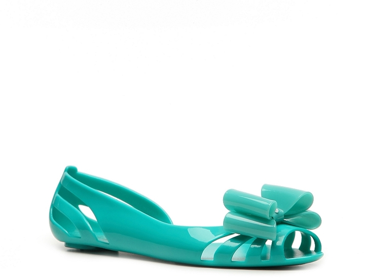 Kurt Geiger Miss Minx Jelly Flat