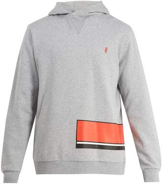 P.E Nation Catch Point cotton-jersey hooded sweatshirt