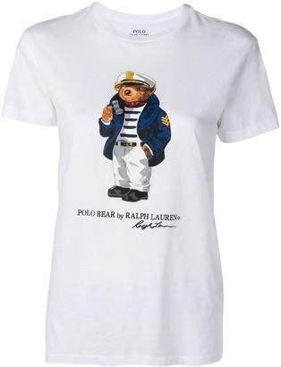 Polo Ralph Lauren Polo Bear printed T-shirt