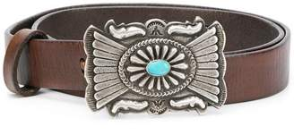 Polo Ralph Lauren embellished buckle belt