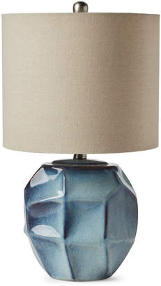 N. Crestview Collection Blue Table Lamp