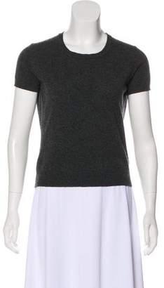 Marni Cashmere Short Sleeve Top