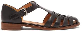 Church's Kelsey Leather Sandals - Womens - Black