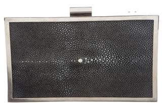 Calvin Klein Collection Stingray Box Clutch