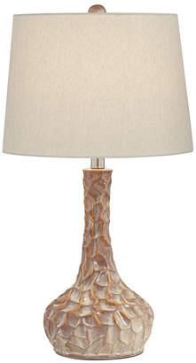 Pacific Coast Metal and Ceramic Table Lamp