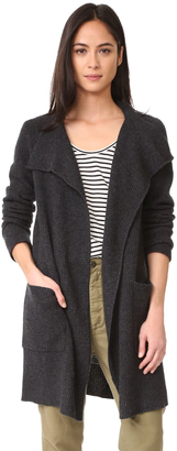 James Perse Thermal Stitch Cashmere Cardigan $495 thestylecure.com