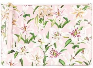 Dolce & Gabbana floral-print clutch