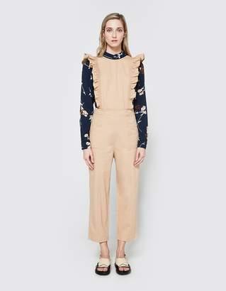 Ganni Phillips Cotton Jumpsuit
