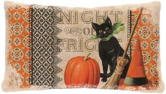 Heritage Lace Victorian Halloween Lumbar Pillow