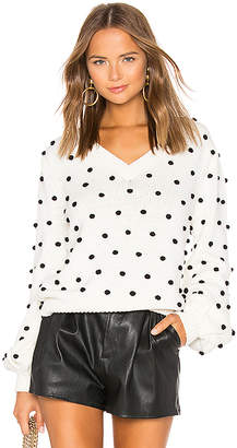 Majorelle Polka Dot Sweater