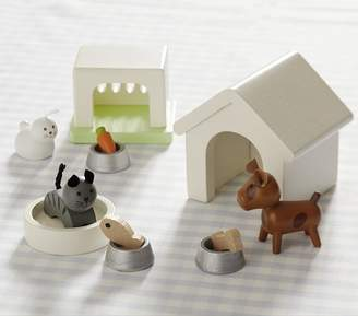 Pottery Barn Kids Dollhouse Pet Set