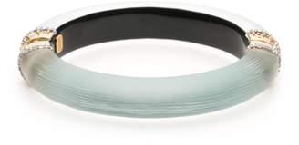 Alexis Bittar pave Edged Hinge Bracelet