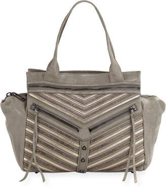 Botkier Trigger Convertible Washed Leather Satchel Bag