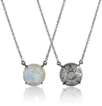 Eina Ahluwalia Serendipity Moonstone Reversible Necklace