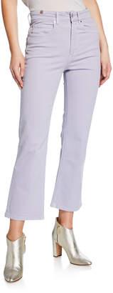 Atelier Notify High-Rise Capri Boot-Cut Jeans