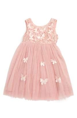 Popatu Butterfly Sleeveless Dress