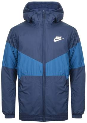 52b1c6516a2c Mens Nike Hooded Down Jacket - ShopStyle UK