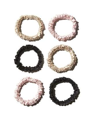 Slip Silk Skinny Scrunchies, Set of 6