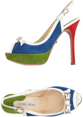 LUCIANO PADOVAN Sandals $224 thestylecure.com