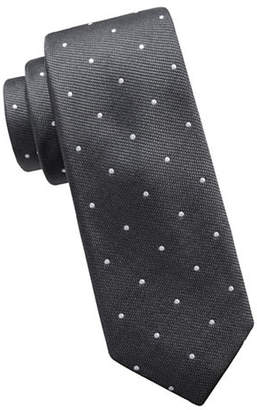 Vince Camuto Slim Dot Silk Tie
