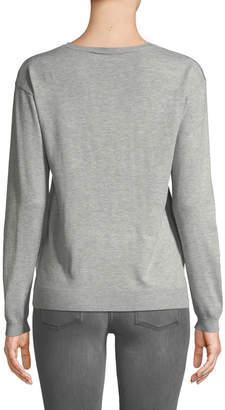 philosophy Star Stud Crewneck Sweater
