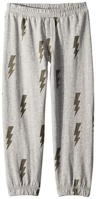 Chaser Kids Cotton Jersey Lightning Lounge Pants Boy's Casual Pants