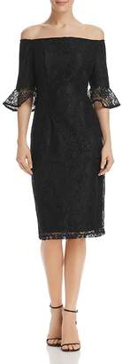 Nanette Lepore nanette Off-the-Shoulder Lace Dress