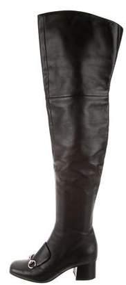 Gucci Lillian Horsebit Boots