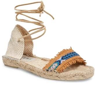 Manebi Women's Leather Espadrille Sandal