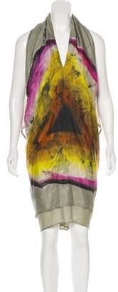 Etro Draped Midi Dress
