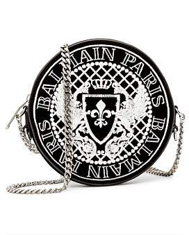 Balmain Embroidered Disco Crossbody Bag