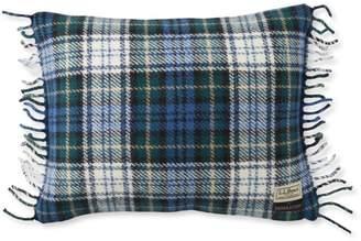 """L.L. Bean L.L.Bean Wool Plaid Throw Pillow, 13"""" x 16"""""""