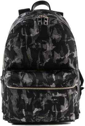 Dolce & Gabbana Camouflage Zipped Backpack