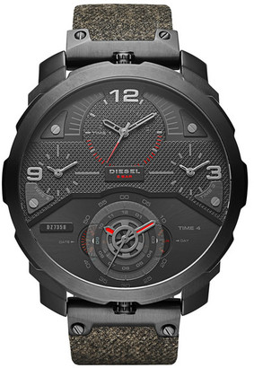 Diesel Men&s Machinus Analog-Quartz Watch $350 thestylecure.com