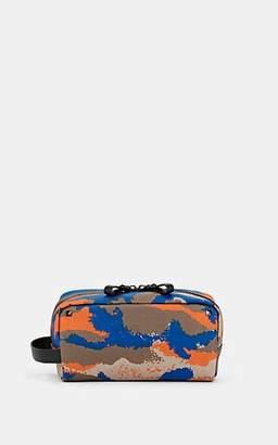 Valentino Men's Leather-Trimmed Dopp Kit