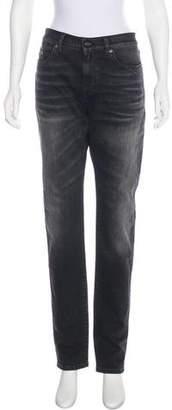 Saint Laurent 2017 Mid-Rise Jeans